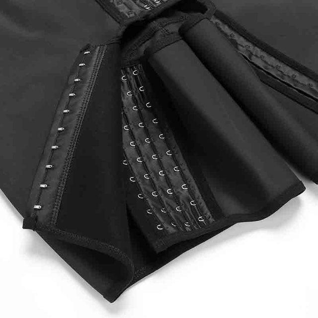 Женское боди шейпер большого размера 6xl черные корсеты с открытой