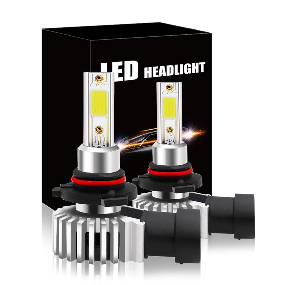 CNSUNNYLIGHT 2pcs H7 H11 H8 9006 LED H1 880 H3 9005 HB3 HB4 Led Headlight Bulbs 72W 8000LM Car Styling 3000K 6000K 8000K Lights