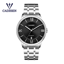 CADISEN Men Mechanical Watch Miyota 8215 Movement Automatic