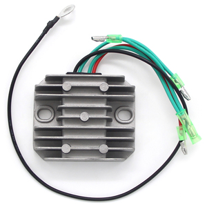 Metal Voltage Regulator Rectifier Motorbike For Yamaha 50 75 8085 90 115 Hp 50J C80A C90 TLR C115 TLH ETOL C75 MLH 6H0-81960-00(China)