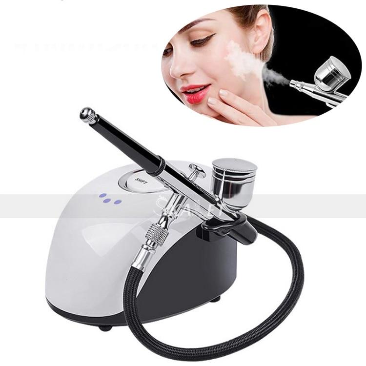 Beauty Salon Water Oxygen Facial Machine Jet Nano Oxgen Facial Sprayer For Face Spa Skin Rejuvenation