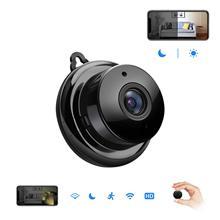 Mini cámara IP inalámbrica de seguridad para el hogar, infrarroja, visión nocturna, SD, almacenamiento en la nube, Monitor CCTV, 720P