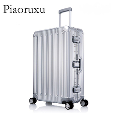 цена на 100% All Aluminium alloy Luggage Hardside Rolling Trolley Luggage travel Suitcase 20 Carry on Luggage 26 29 inch Checked Luggage