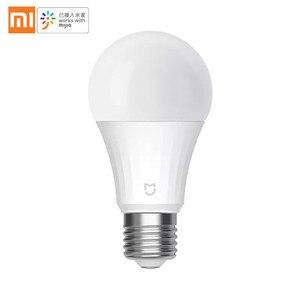 Image 2 - Xiaomi bombilla Led inteligente Mi, versión de malla, Bluetooth, lámpara inteligente controlada por la aplicación Mijia, ajuste de la temperatura del Color por voz