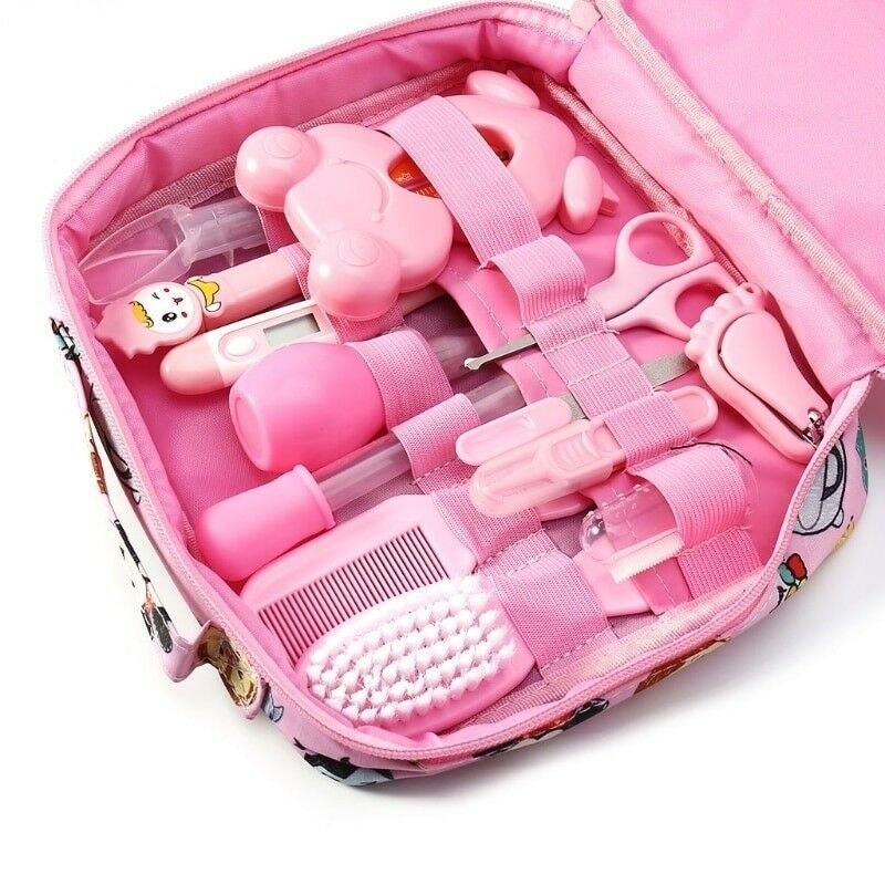 Newborn Baby Kids Nail Hair Health Care Baby Care Kit Grooming  Thermometer Clipper Scissor Kid Toiletries For Baby