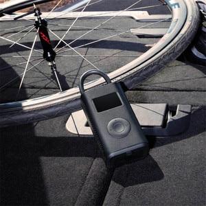 Image 2 - Original Xiaomi Mijia Portable Smart Digital Tire Pressure Detection Electric Inflator Pump for Bike Motorcycle Car Football