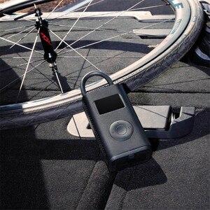Image 2 - الأصلي Xiaomi Mijia المحمولة الذكية الرقمية الإطارات ضغط كشف منفاخ كهربائي مضخة سيارة دراجة نارية كرة القدم