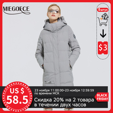 Coats Parkas Women's Jacket MIEGOFCE Waterproof Long Winter Cotton Logo-Design with New