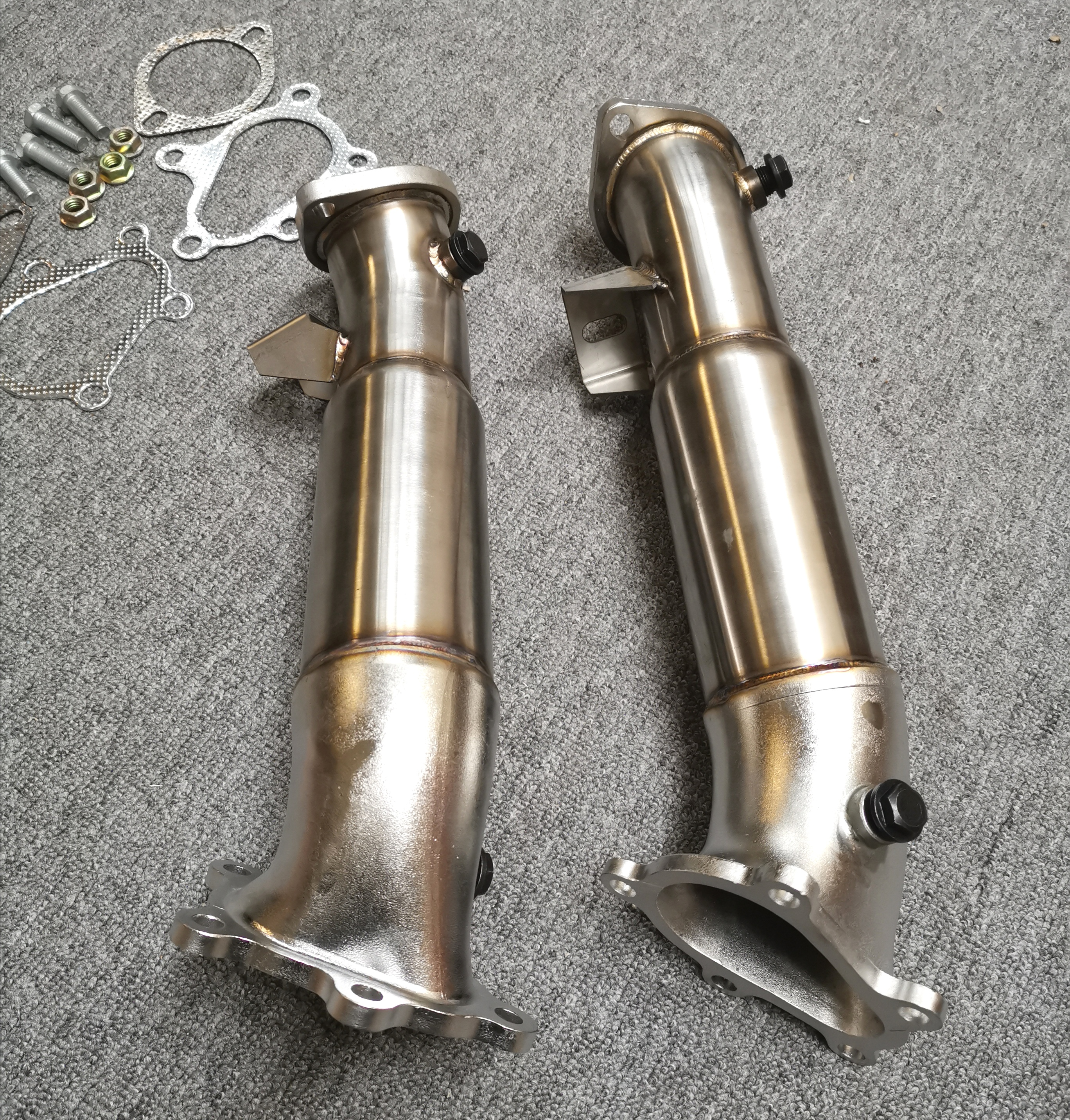 3.5inch Downpipe For Nissan Gtr R35 2008-2019