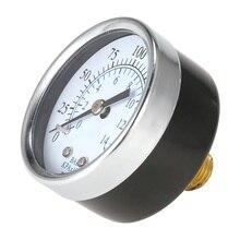 0 1 5 psi 0 1bar gauge 4 20ma sensor pressure 9v to 30v 24v dc supply male thread 1 4 npt 316l wetted parts low cost Universal Pressure Gauge Air Compressor Hydraulic Manometer 0-200 Psi 0-14 Bar Back Mnt 1/4 Inch NPT Measure Tester