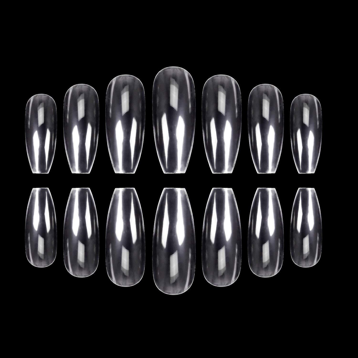 Manicure Stick Completely Ballet Nail Tip Refers To Nail Tip Transparent Color Fake Nails Nail Sticker French Coffin Nail Tip 50
