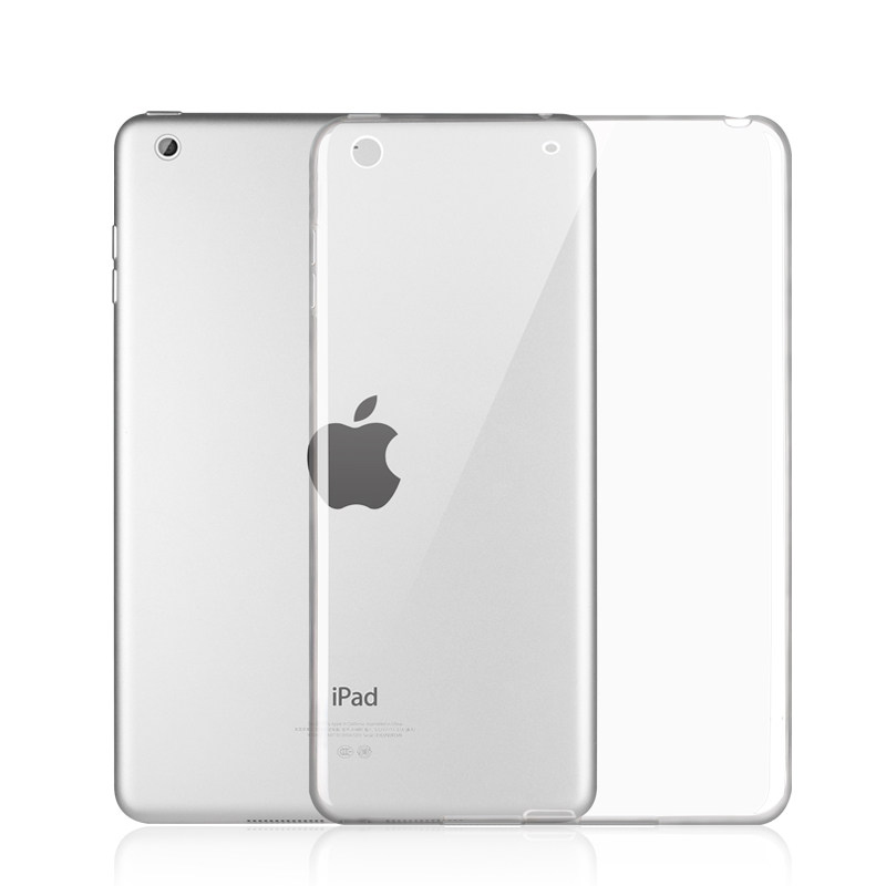 For IPad 10.2 2019 Case Transparent Silicone Soft TPU Clear Tablet Protective Cases Cover For Apple IPad 7th 10.2 Inch Covers
