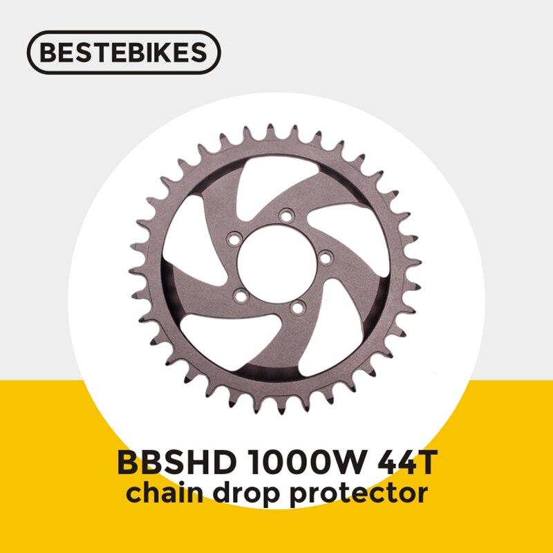 Bafang motor BBSHD 1000W 48V BBS03 mid drive motor electric bike conversion kit chain drop protector 44T