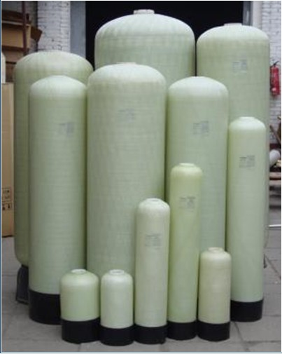 Fiberglass Reinforced Plastic Tank Water Treatment Resin Barrel Filter Water Softener Tank Lined With PE