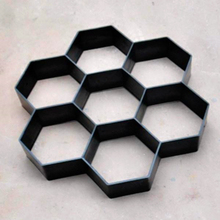 Color Floor Embossing Mould Garden Paving Mould Ancient Building Courtyard Cement