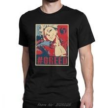 Camiseta de ocio de Seven Deadly Sins para hombre, camisetas de manga corta de marca, Camiseta de algodón con cuello redondo