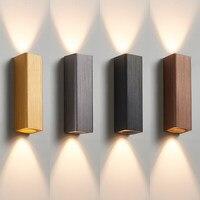 Wire-desenho de metal caro 8W LED lâmpada de parede para cima para baixo luz de parede para quarto/corredor/Sala de Estar /banheiro
