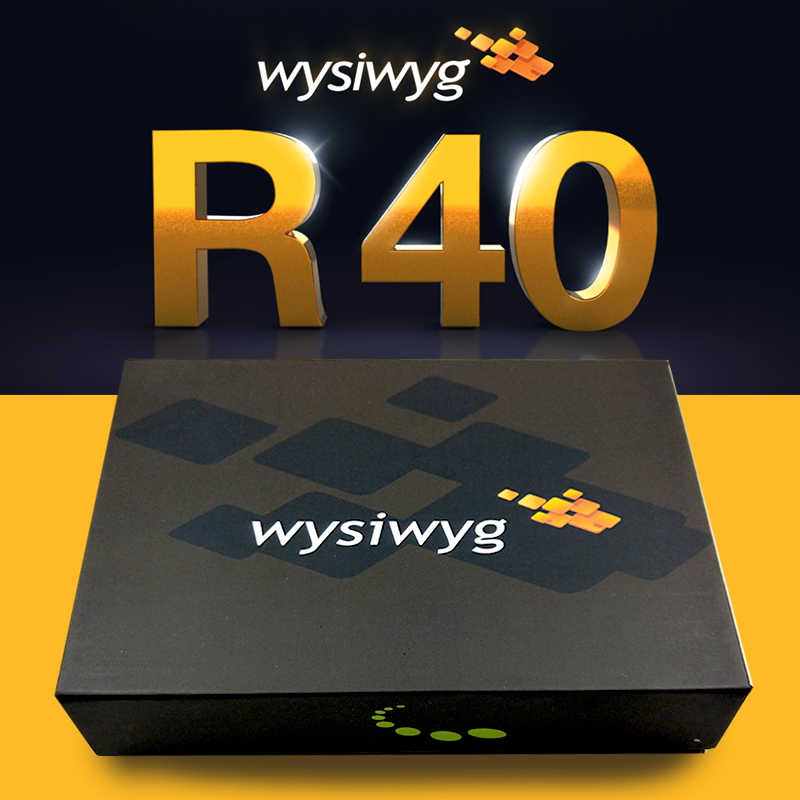 WYSIWYG Release 40 R40 preform  Encrypted dog-in Stage Lighting Effect from Lights & Lighting on