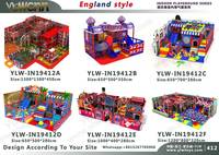 customized designed indoor playground park YLW IN19412