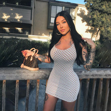 2019 new arrival women dresses sexy party femme Hole vestidos