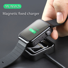 USB Charging Dock Cable Replacement Cord Charger For Xiaomi Smart Watch Charger for mi watch accessories usb charger magnetic charging cable dock cradle station cord portable replacement accessories for suunto spartan watch