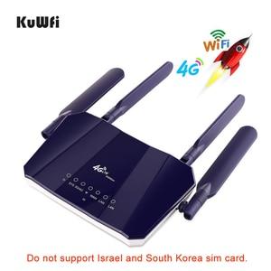 Image 5 - KuWFi 4G LTE CPE Router WiFi 300Mbp Wireless CPE Router Mobile di WiFi con Slot Per SIM Card con Una buona Copertura per PC/Telefono/TV BOX