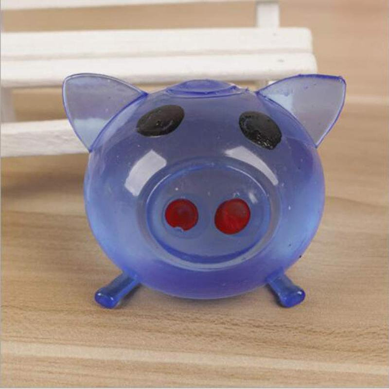 Vent-Toy Fidget Jello Pig Water-Pig-Ball Squishy Antistress Splat Sticky-Pig Relief Funny Gift img2