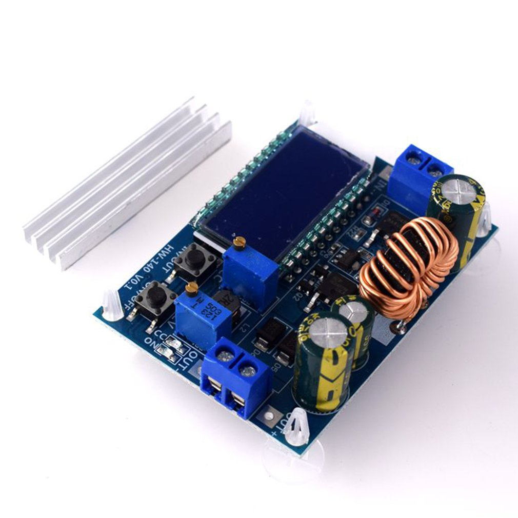 Boost Converter Buck-Boost Module Constant Voltage Constant Current Lcd Lcd Digital Display Voltmeter Ammeter
