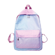 Rainbow Fresh Style Women Backpacks Patchwork Bookbags Waterproof Backpack School Bag For Girls Rucksack Female Travel Backpack perilla brand small backpack travel bag unisex school bag for teenage students backpacks rucksack bookbags cool urban backpack