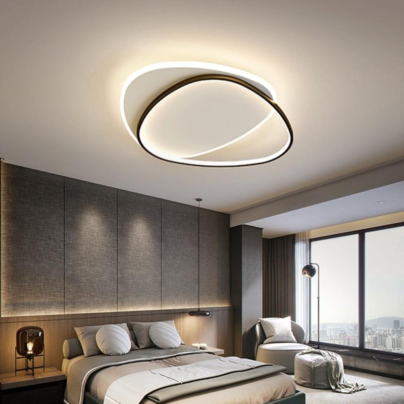 Хит продаж, Потолочная люстра для спальни, светодиодный потолочный светильник, светильник для комнаты, потолочный светильник, ультратонкий...