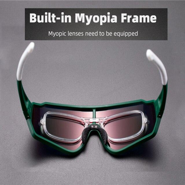 ROCKBROS Polarizada Photochromic Óculos Ciclismo Bicicleta Outdoor Sports Óculos de Bicicleta óculos de Sol Óculos Óculos Óculos de Miopia Quadro 2