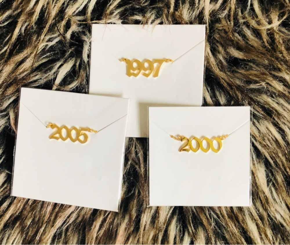 Женская мода 1990-2019 год рождения леггинсы браслет ювелирные изделия из нержавеющей стали розовое золото пользовательский номер ножной браслет подарки для лучшего друга
