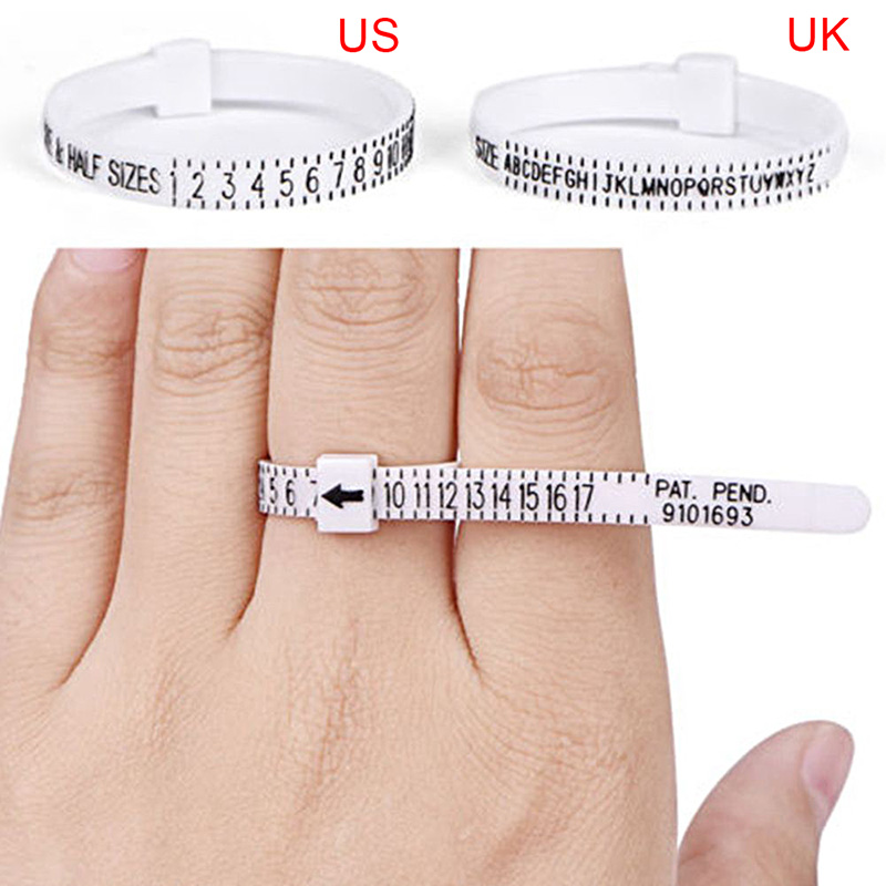 Ring Rulers Fingers Size Measurement Tool Finger Circumference Screening Tool LL@17