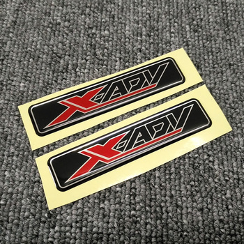 X ADV For HONDA XADV X-ADV 750 150 Motorcycle Stickers Side Panel Tank Pad Protector Fairing Emblem sticker windshield scooter for honda x adv xadv ampliar 2017 2018 motorcycle kickstand foot side stand extension pad support plate scooter accessories xadv