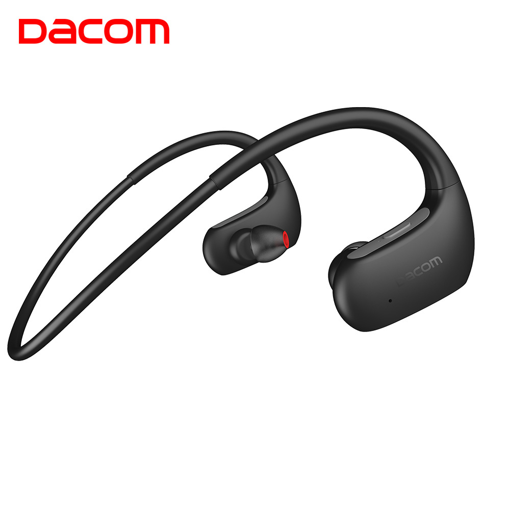 DACOM L05 IPX7 водонепроницаемые Bluetooth наушники стерео глубокий бас беспроводные наушники гарнитура для спорта бега