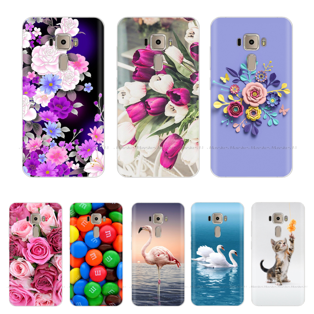 Silicone Case For Asus Zenfone 3 Case ZE520KL Soft TPU Back Cover For Asus Zenfone3 ZE520KL <font><b>ZE</b></font> 520KL <font><b>ZE</b></font> <font><b>520</b></font> <font><b>KL</b></font> Phone Case 5.2