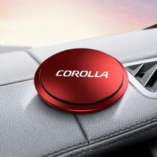 Odświeżacz powietrza do samochodu Instrument Seat UFO kształt dla Toyota corolla akcesoria Car styling tanie tanio CN (pochodzenie) 5 8cm Metal Uchwyty hamulca ręcznego Air Freshener Instrument 1 8cm 1998-2019 Universal