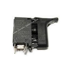 Tournevis sans fil pour perceuse, pièces de rechange pour Makita, déclencheur de commutateur 6507333/6 3, DFS251/DFS250/FS452D