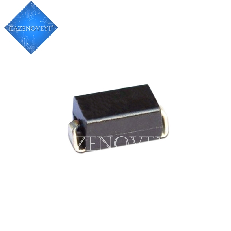 100 teile/los Diode S2M SMA RL207 DO-214AC SMD 2A 1000V Rectifier In lager
