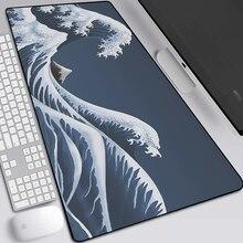 Коврик для мыши японский пейзаж большой игровой коврик ноутбука