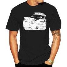 Road Fan Cherokee XJ 2nd Gen T-Shirt Rally Multi Colors S-3XL Man Fashion Round Collar T Shirt Top Tee Chinese Style