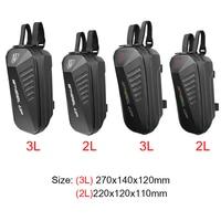 Bolsa de almacenamiento para patinete eléctrico Xiaomi M365 Ninebot ES1 ES2 ES2, carcasa dura EVA, asa para la cabeza, 2/3L
