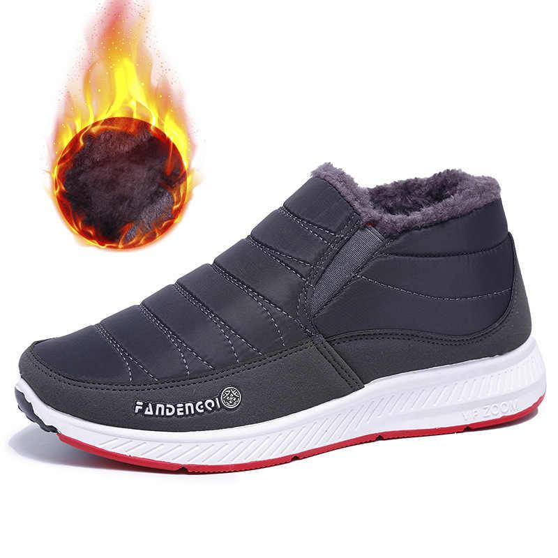 Kadın kış kar botları bayanlar elastik bant düz Platform kürk peluş ayak bileği Botas kadın kaymaz kadın rahat kadın ayakkabısı