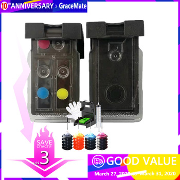 PG-40 CL-41 Compatible Refillable Ink Cartridge for Canon Pixma MP140 MP150 MP160 MP180 MP190 MP210 MP220 MP450 MP470 Printer refillable ink cartridge for canon pg 40 41 pixma ip2500 ip2600 ip1800 ip1900 mp190 printer pg 40 cl 41 compatible ink cartridge