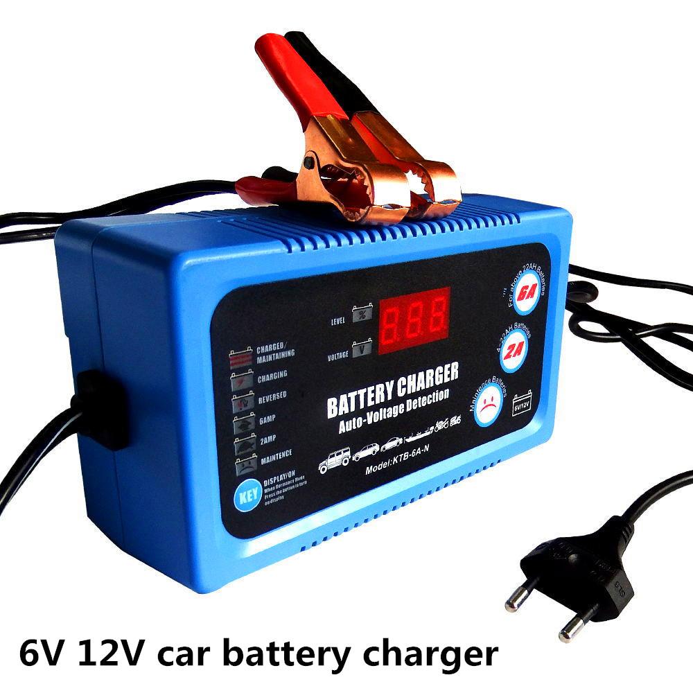 Умное зарядное устройство для аккумуляторов автомобиля мотоцикла