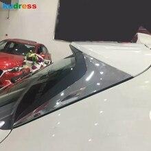 Для Mazda CX-5 CX5 KF ABS хромированное покрытия, для заднего стекла боковые треугольные Угловые крышки украшения отделка автомобиля Стайлинг Аксессуары