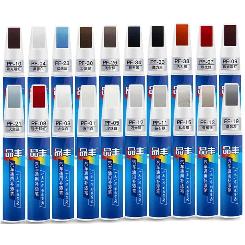 Diy Auto Clear Scratch Remover Touch Up Pennen Auto Verf Reparatie Pen Borstel Automotive Universele Touch Up Pen Zilveren Auto