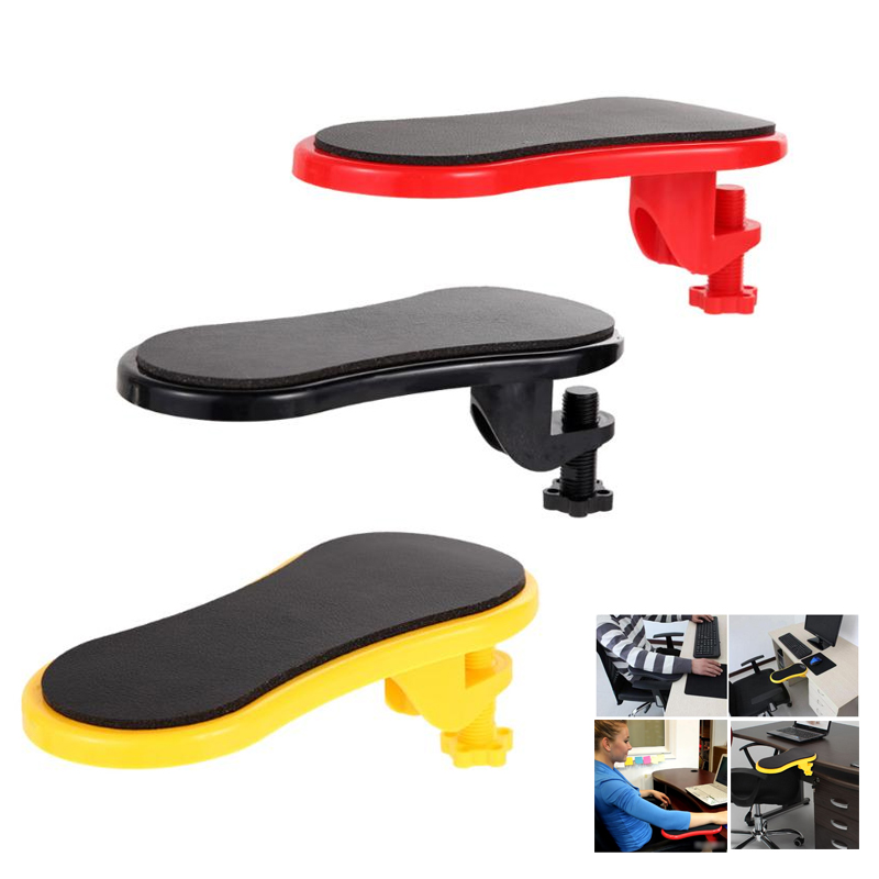 Attachable Armrest Pad Desk Table Computer Arm Support Hand Shoulder Protect Mousepad Wrist Rests Chair Extender Dropship