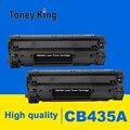Toney King 2 шт 435A совместимый тонер-картридж CB435A 435a 435 35a для принтера hp LaserJet P1002/P1003/P1004/P1005/P1006/P1009