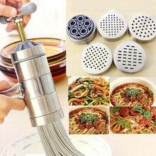 Juicer Noodle-Maker Press Pasta Kitchen-Machine Spaghetti Stainless-Steel Fruit Vj-Drop